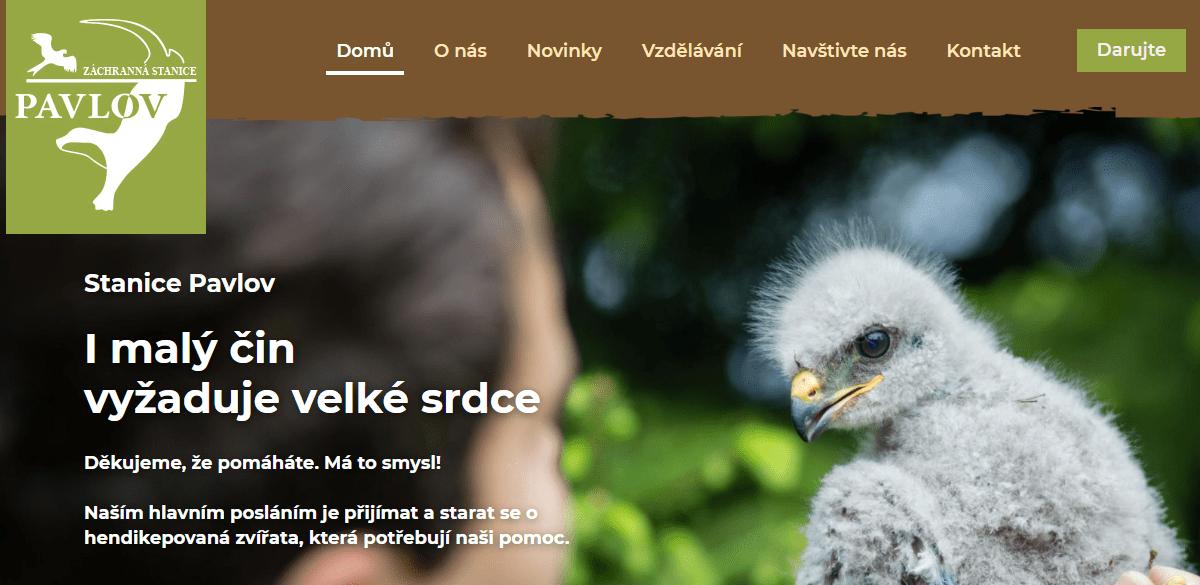web nahled - Stanice Pavlov